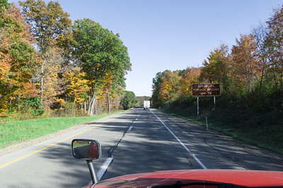 Pennsyvania, I-80 Fall Foliage
