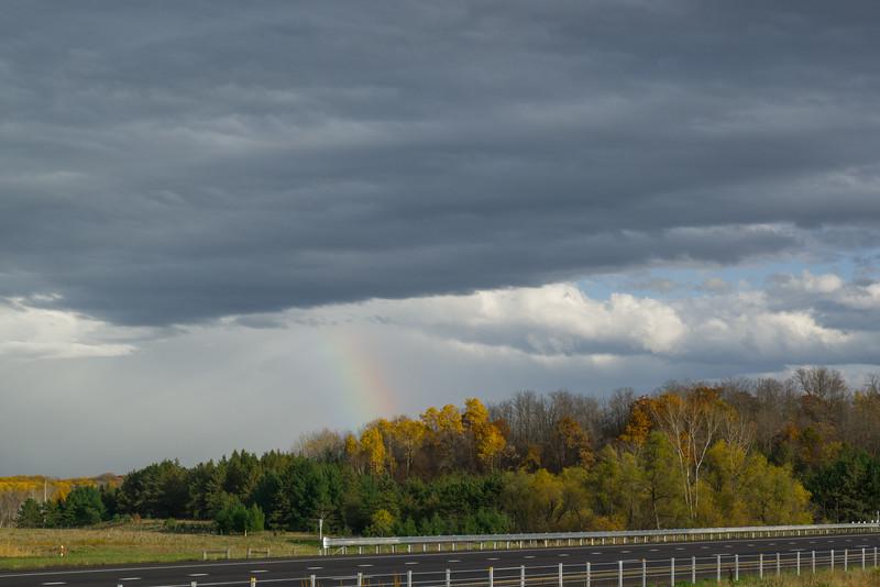 Minnesota  Fall Rainbow