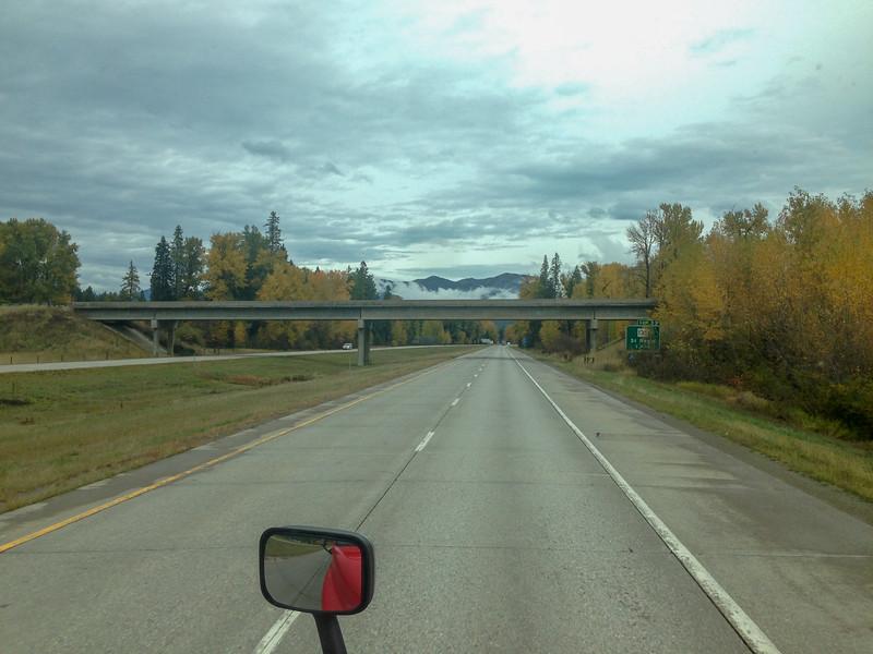 Western Montana Fall I-90