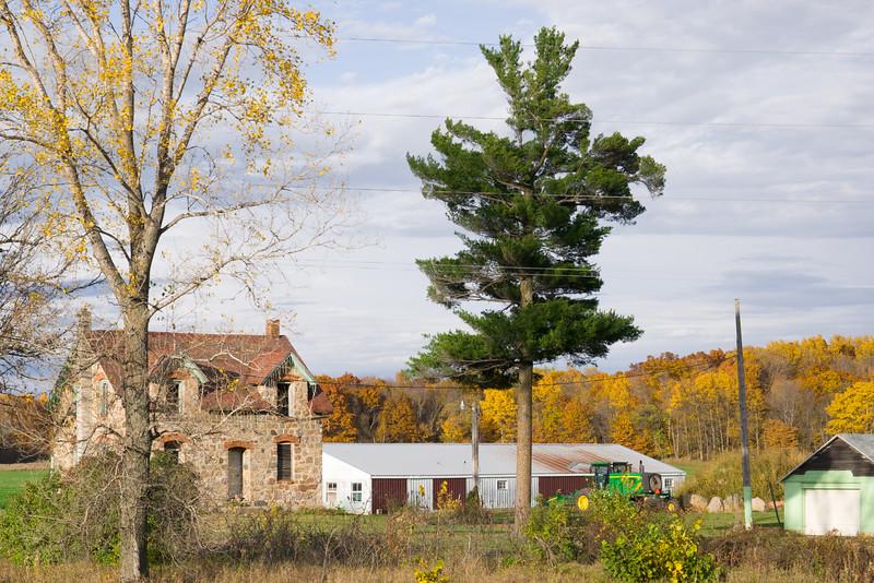 Old Minnesota Farm House