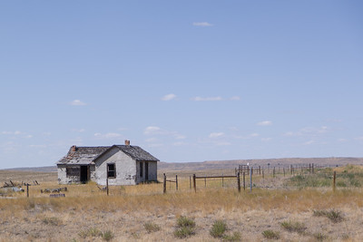 Eastern Montana Old Home