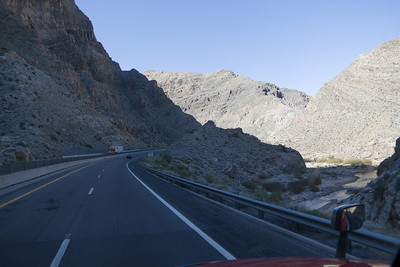 I-15 Arizona Cut Canyon
