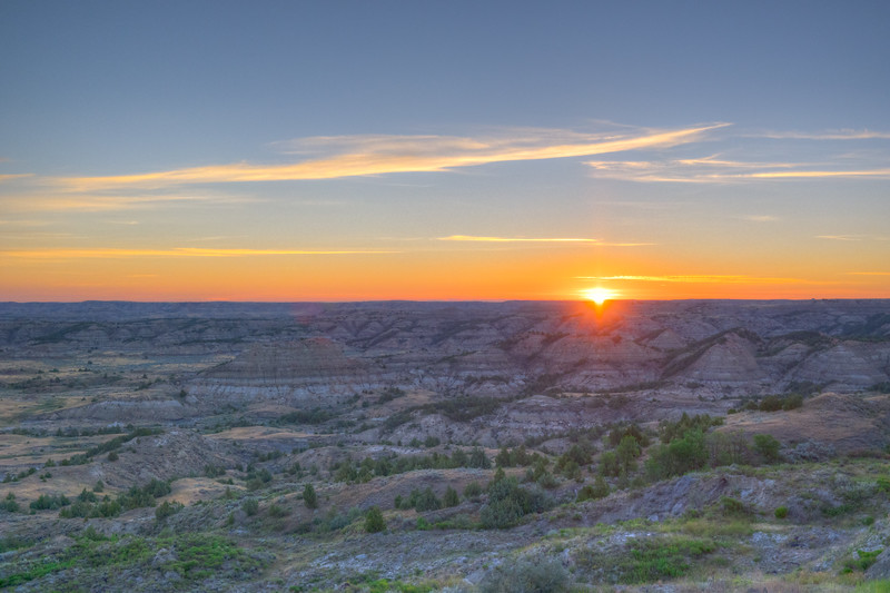 Painted Canyon, ND