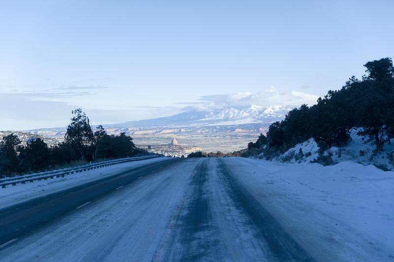 US 191 North of Monticello, UT