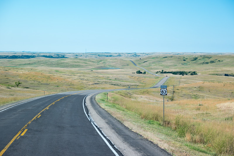 South Dakota US-83