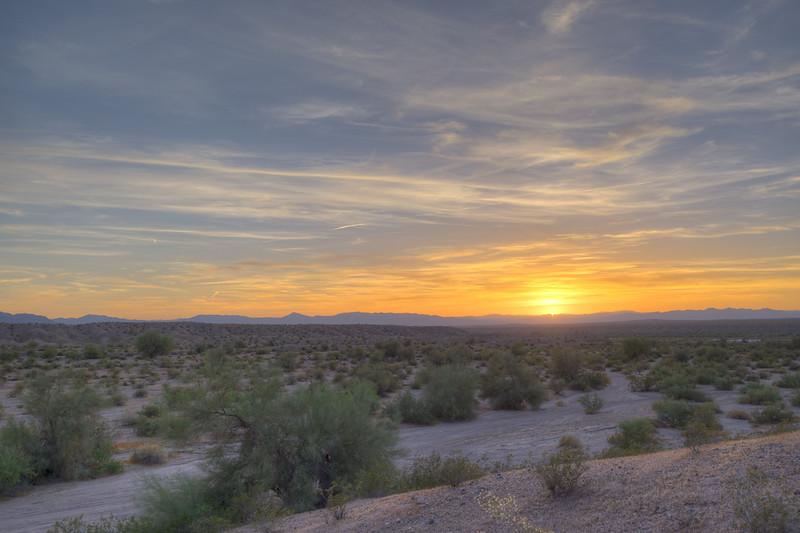 Topock, AZ Sunset