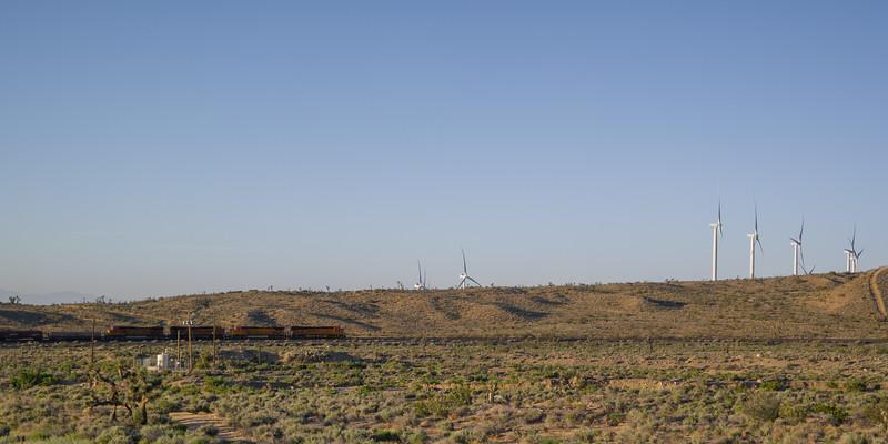 BNSF Train Near Mojave, CA
