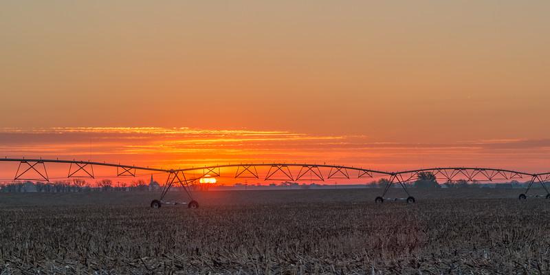 Sunrise Near Waco, Nebraska