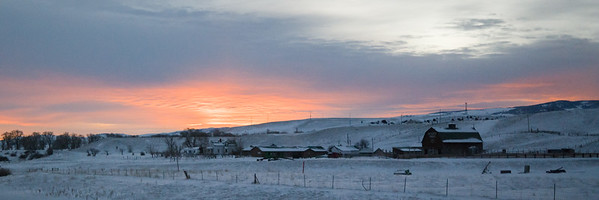 Central Montana Sunrise
