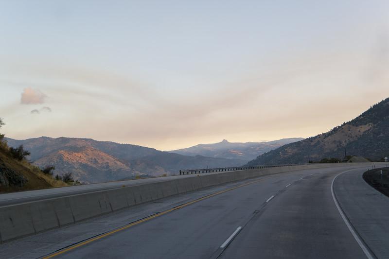Wildfire Smoke Sunrise