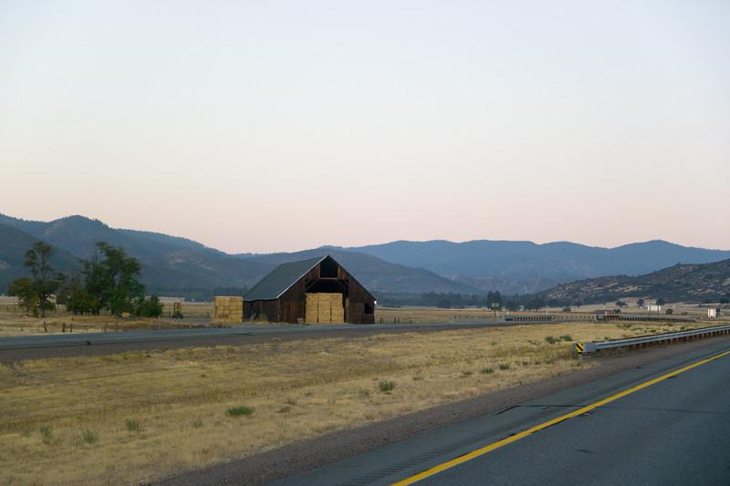 Barn I-5 Near Yreka, CA