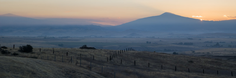 Sunrise Near Yreka, CA