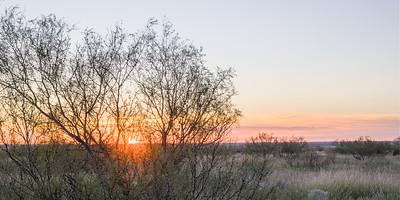 Sunrise Near Claude, TX