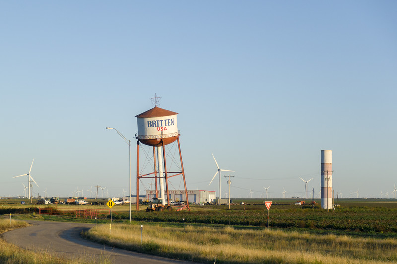 Groom, TX Leaning Water Tower