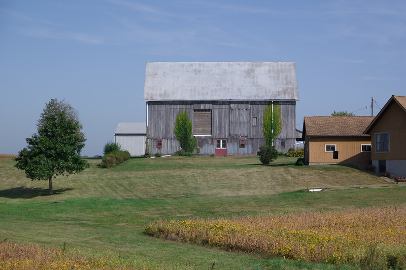 Ohio Barn Near Wooster