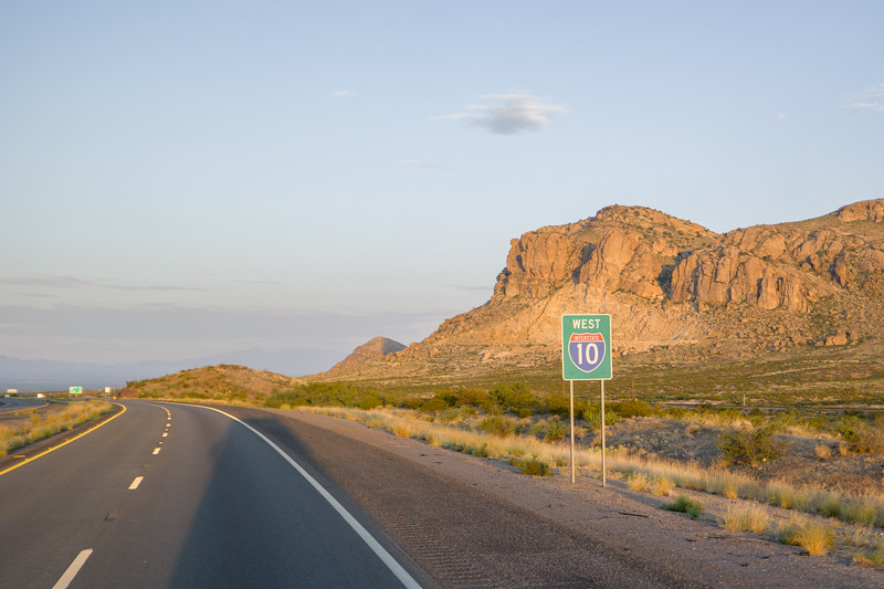 Western NM near AZ (I-10)