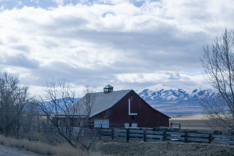 US-20 Idaho Barn