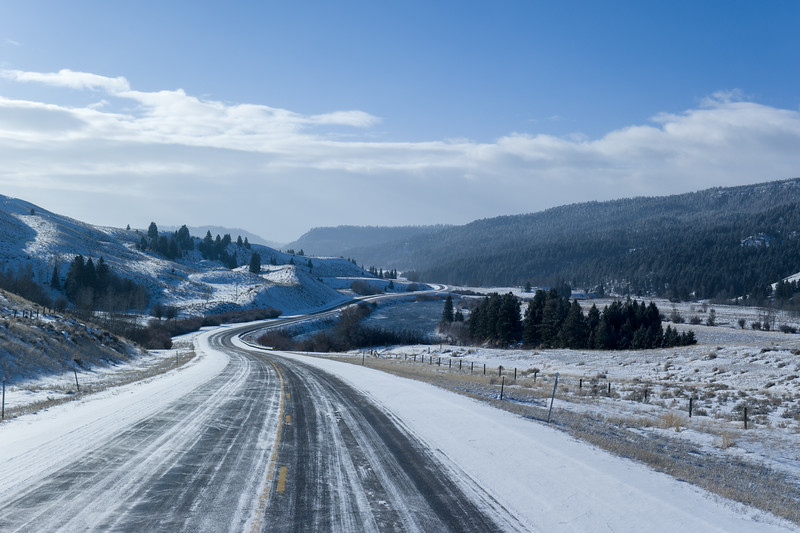 Montana Winter US-287