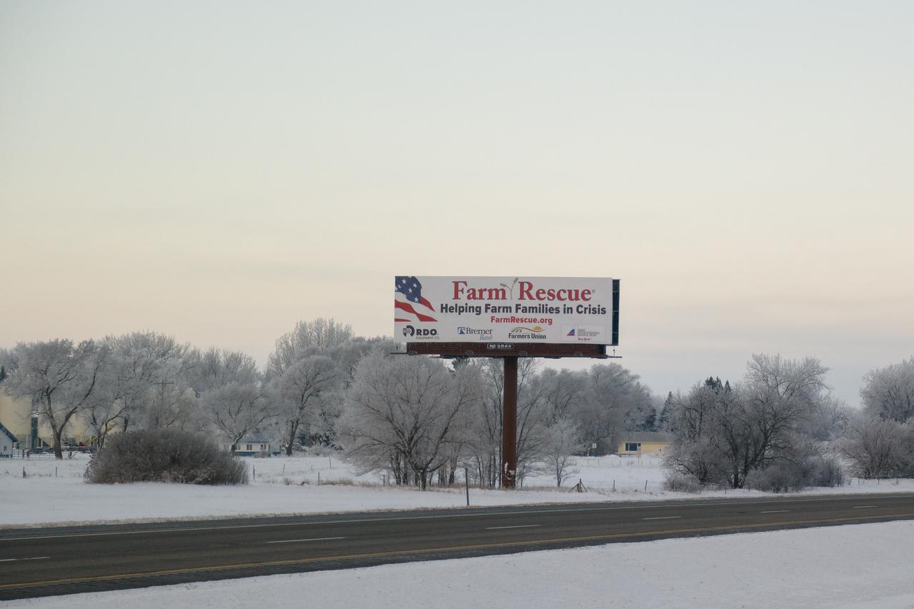Central North Dakota Winter