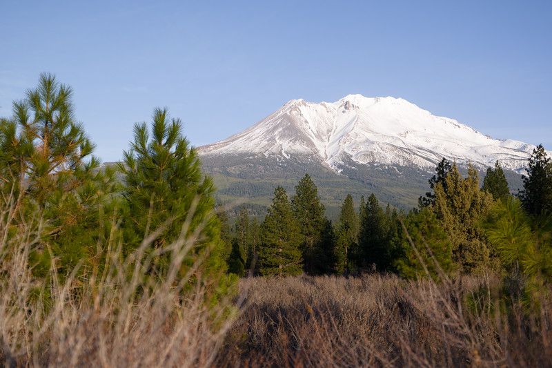 Mt Shasta From Weed, CA