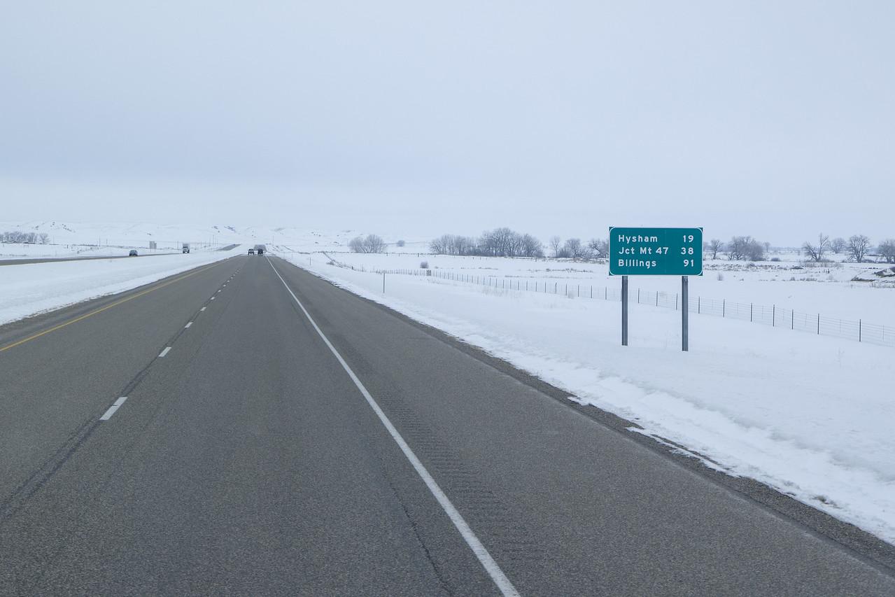 Eastern Montana I-94