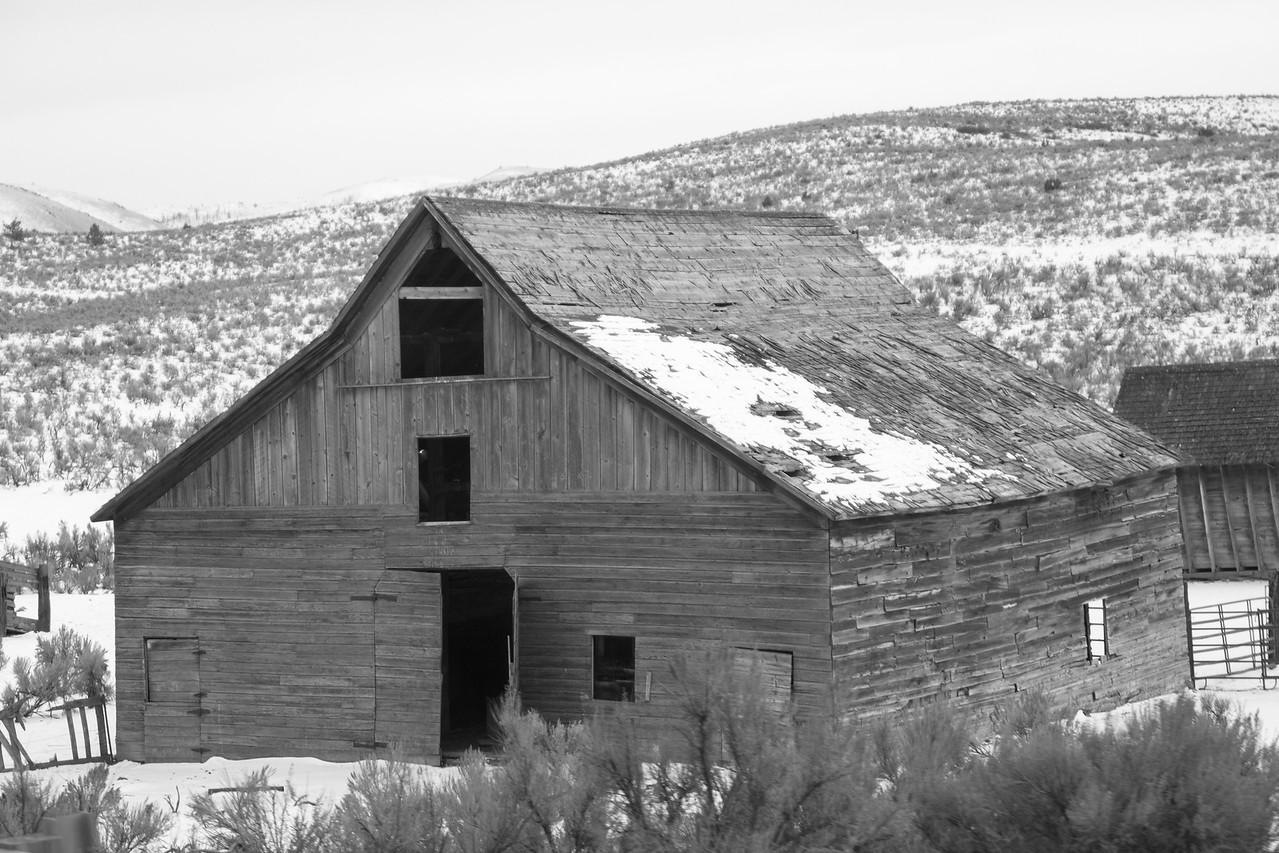 Old Barn in Oregon