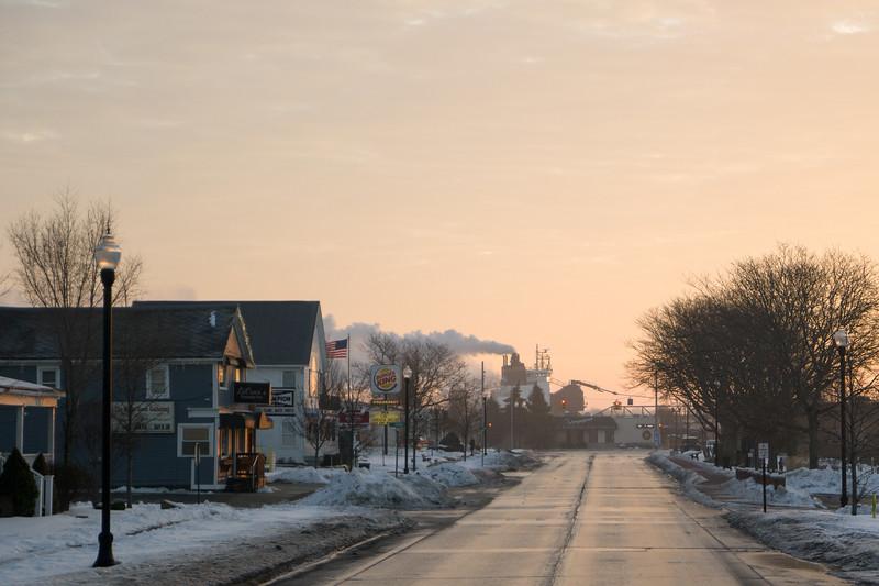 St Clair, MI Freighter