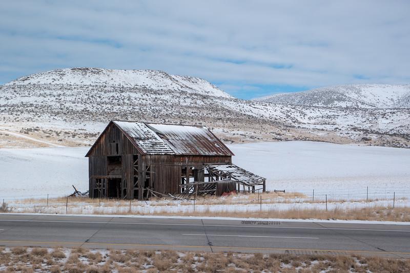 Utah Barn I-84