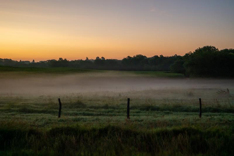 SE Nebraska Morning with Fog