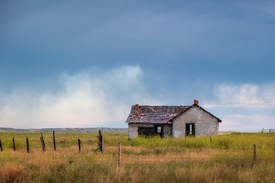 Old Settler's Home Near Forsyth, MT
