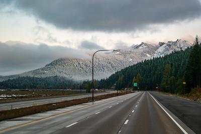 Snoqualamie Pass Washington Area In Fall