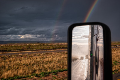Rainbow East Of Van Horn, TX
