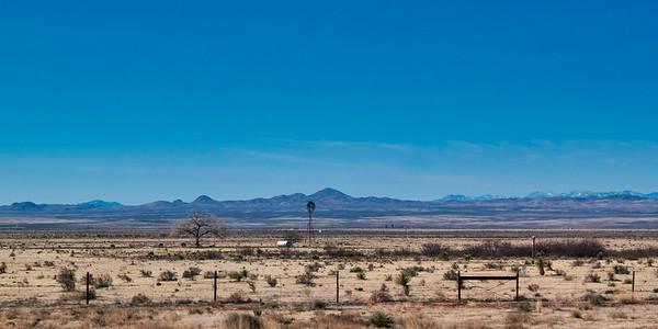 Windmill Near Lordsburg, NM