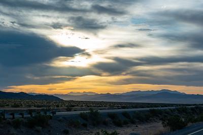 Mojave National Preserve, CA Sunrise