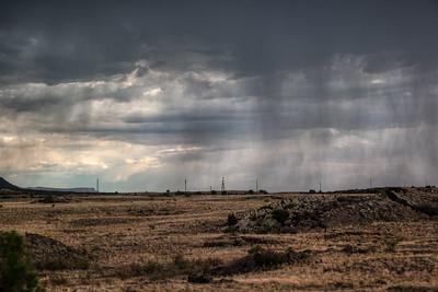 New Mexico Rain Shower
