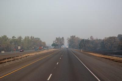 Smoke Near Medford, WA
