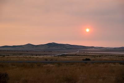 Northern Utah Smokey Sunrise