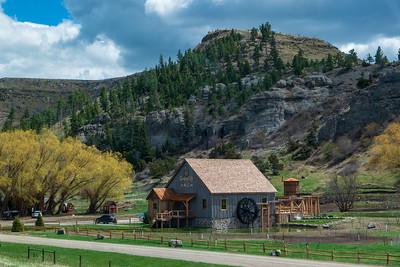 Greycliff Mill, Montana