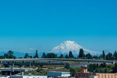 Mt Ranier from Tacoma, WA