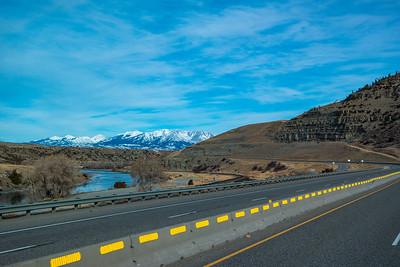 Near Greycliff, MT