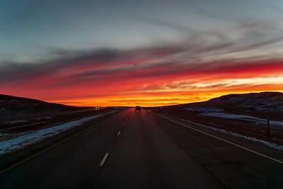 Sunrise Near Glen Ullin, ND