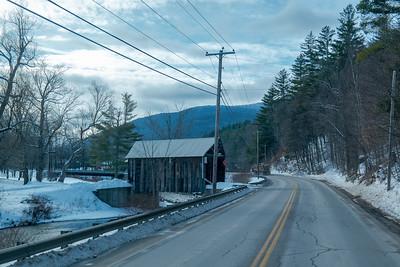 Vermont Covered Bridge Hwy 100