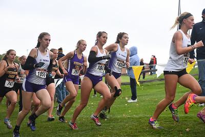 2018 - University of St Thomas Women Cross Country run at Roy Griak Invitational  -- Copyright Christopher Mitchell / SportShotPhoto.com
