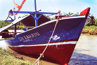Seine boat at Sendang Sekucing