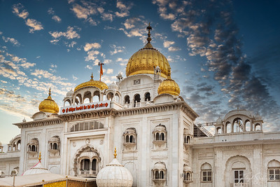 Gurudwara Bangla Sahib (Sikh Temple)