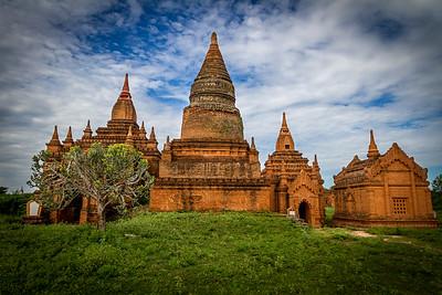 Seinnyet Ama Temple and Seinnyet Nyima Pagoda