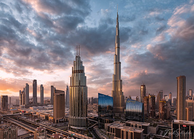 View From the Central Park Towers, DIFC