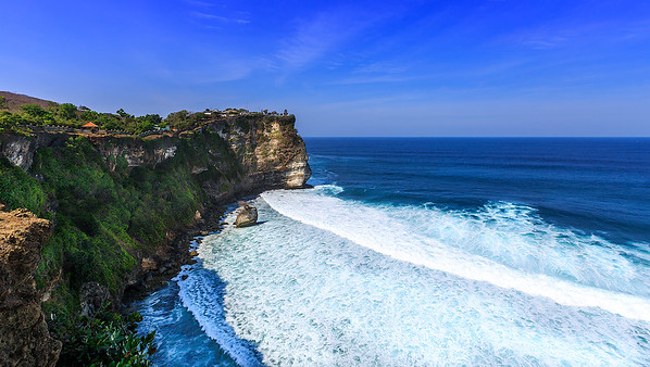 Pura Luhur Uluwatu Balinese Sea Temple (11th Century)