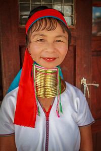Padaung (Long-Neck) Tribe