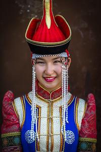 Mongolian Deel Attire